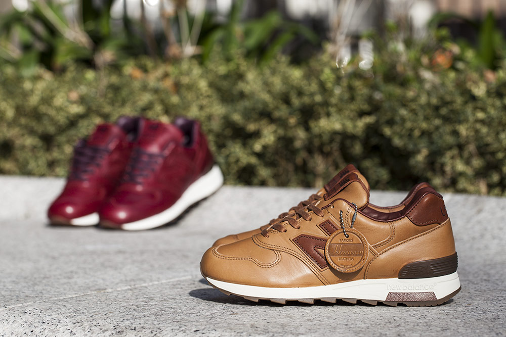 100% authentic d1281 55931 ... order horween leather co. x new balance made in usa. u2014 oslo sneaker  fest