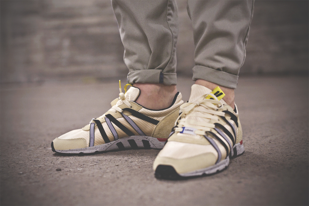 new product 18617 a5d94 Back in November Overkill and Adidas teamed up on the Concortium EQT Racer  93 silhouette. Inspired by Berlin´s beige colored cabs.