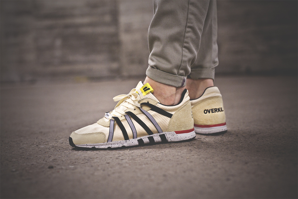 new product 71828 ea6ff Back in November Overkill and Adidas teamed up on the Concortium EQT Racer  93 silhouette. Inspired by Berlin´s beige colored cabs.