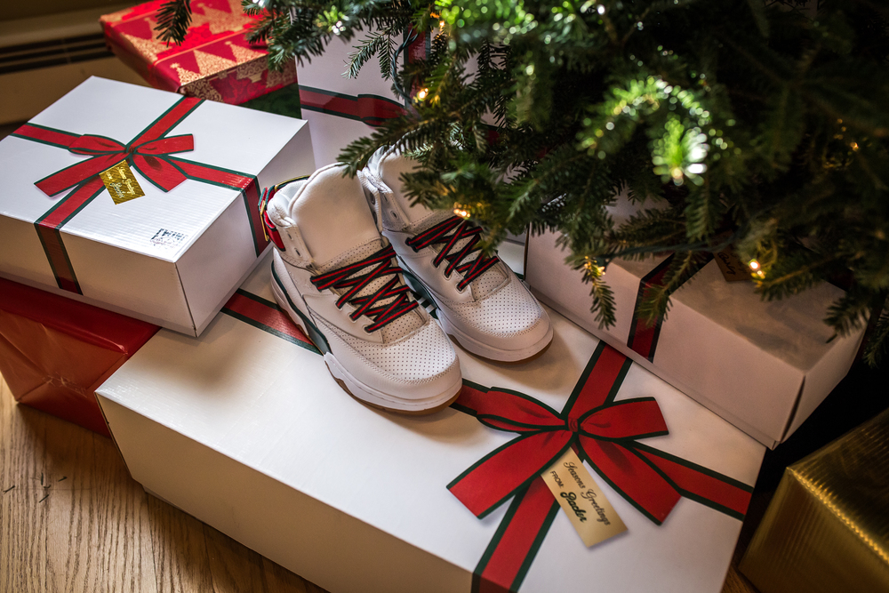 newest 07bcd 16f2d Each pair will come in a special edition co-branded holiday gift box. More  information soon to come at Packer Shoes.