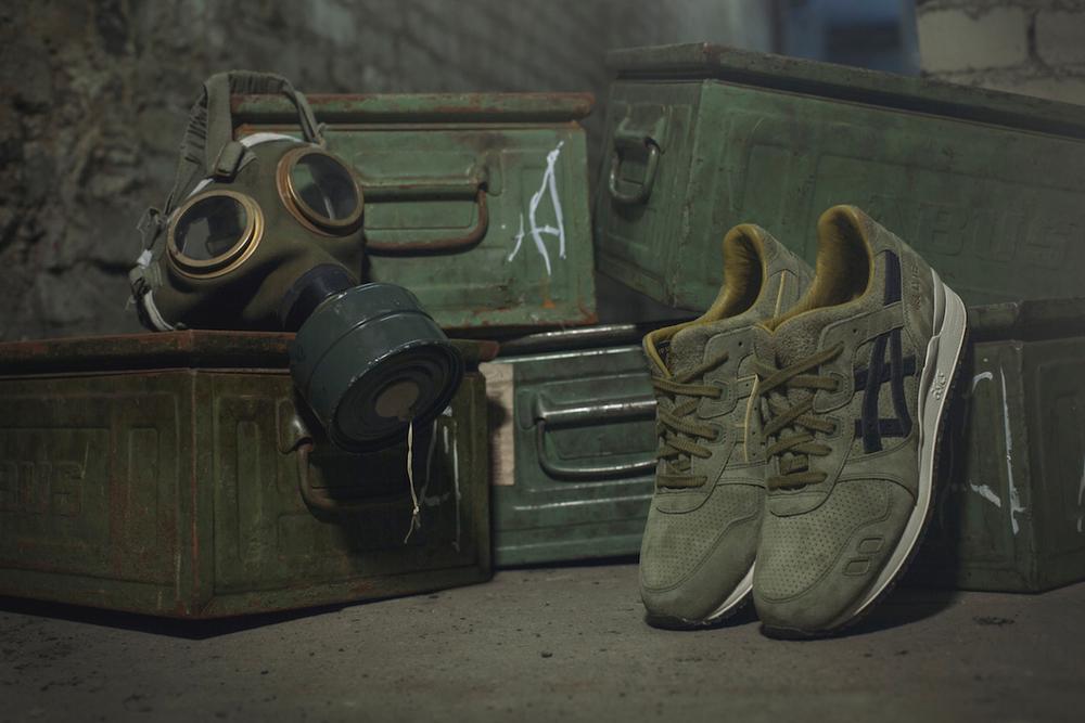 """Footpatrol x Asics Gel Lyte III """"Squad"""""""