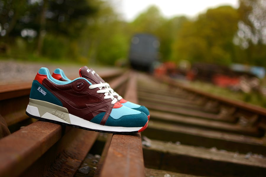 "Hanon x Diadora n9000 ""Saturday Specials"""