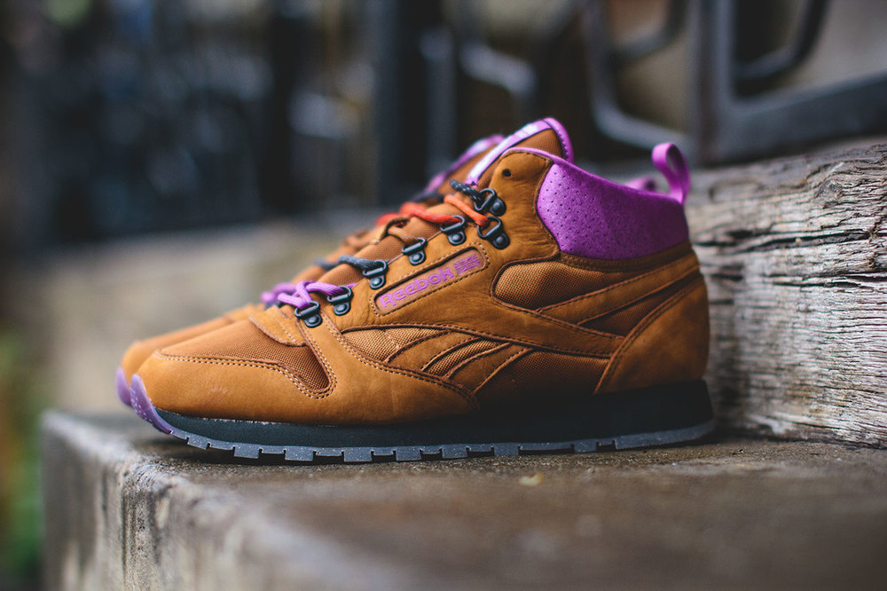 "Footpatrol x Reebok Classic Leather Mid ""On The Rocks"""