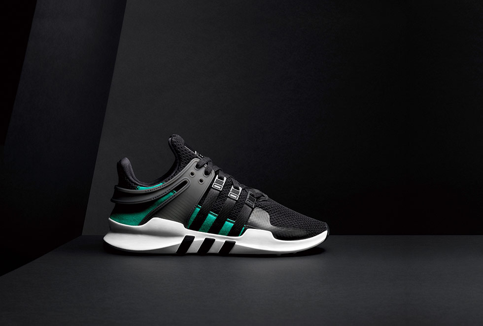 good eqt support adv shoes black b37539 761b8 029d3  new style as a result  of the bold progressive and visionary design the sneaker sets out eca444786f78