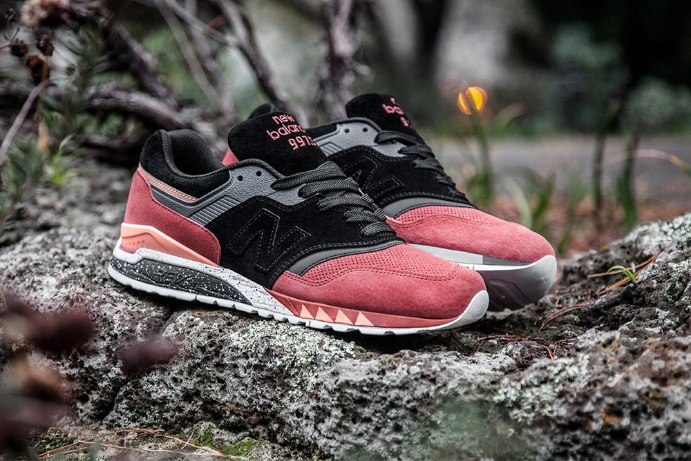 692a74f94 This tough sneaker beast is carved from a unique shade of  terracotta   suede