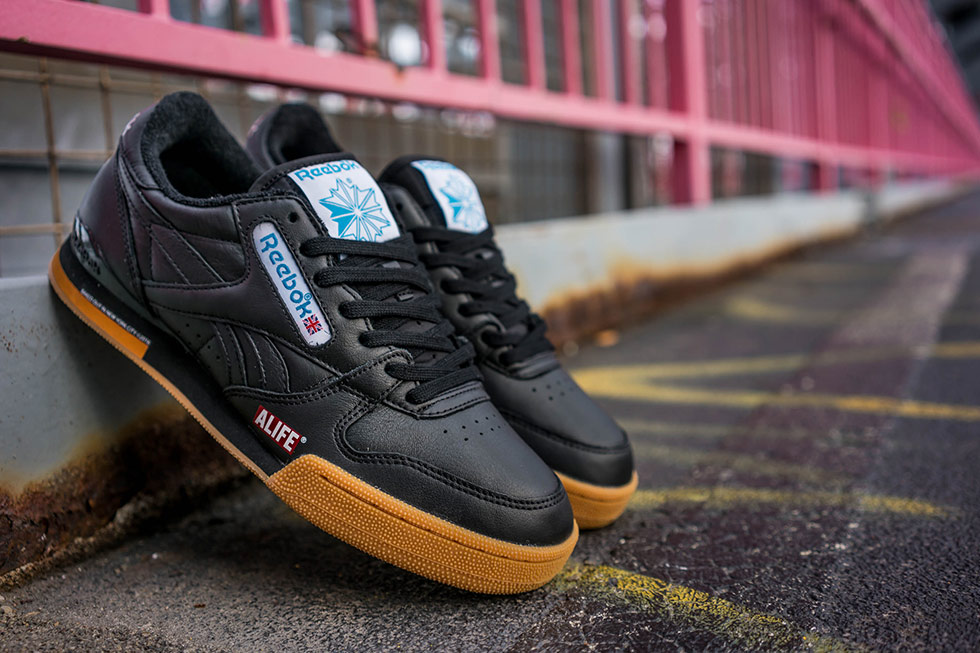 """new style e2332 9e99e The Reebok x Alife Phase 1 Pro """"NY, NY"""" pack will be available in three  colorways – black, white and steel grey. More information about the release  soon to ..."""