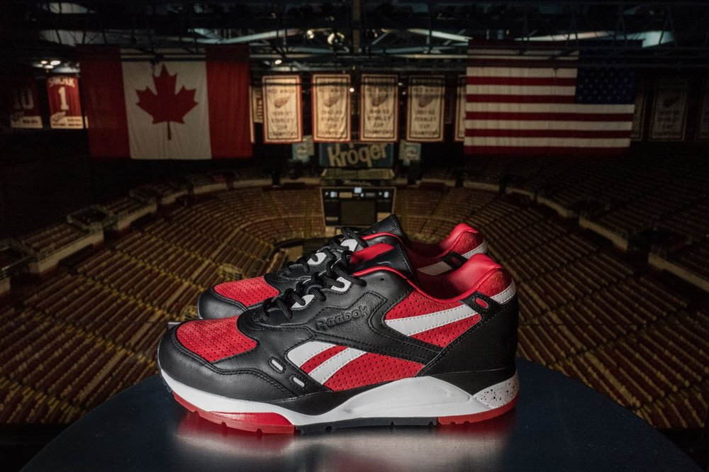 Detroit Red Wings x Burn Rubber x Reebok Bolton