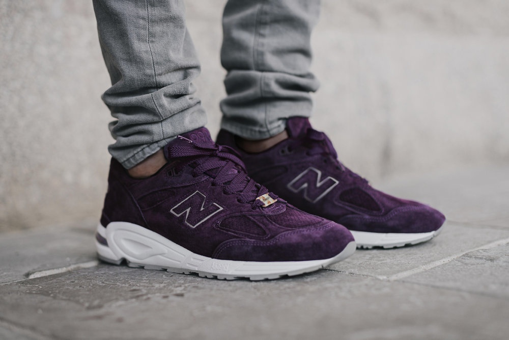 "Concepts x New Balance 990v2 ""Tyrian"""