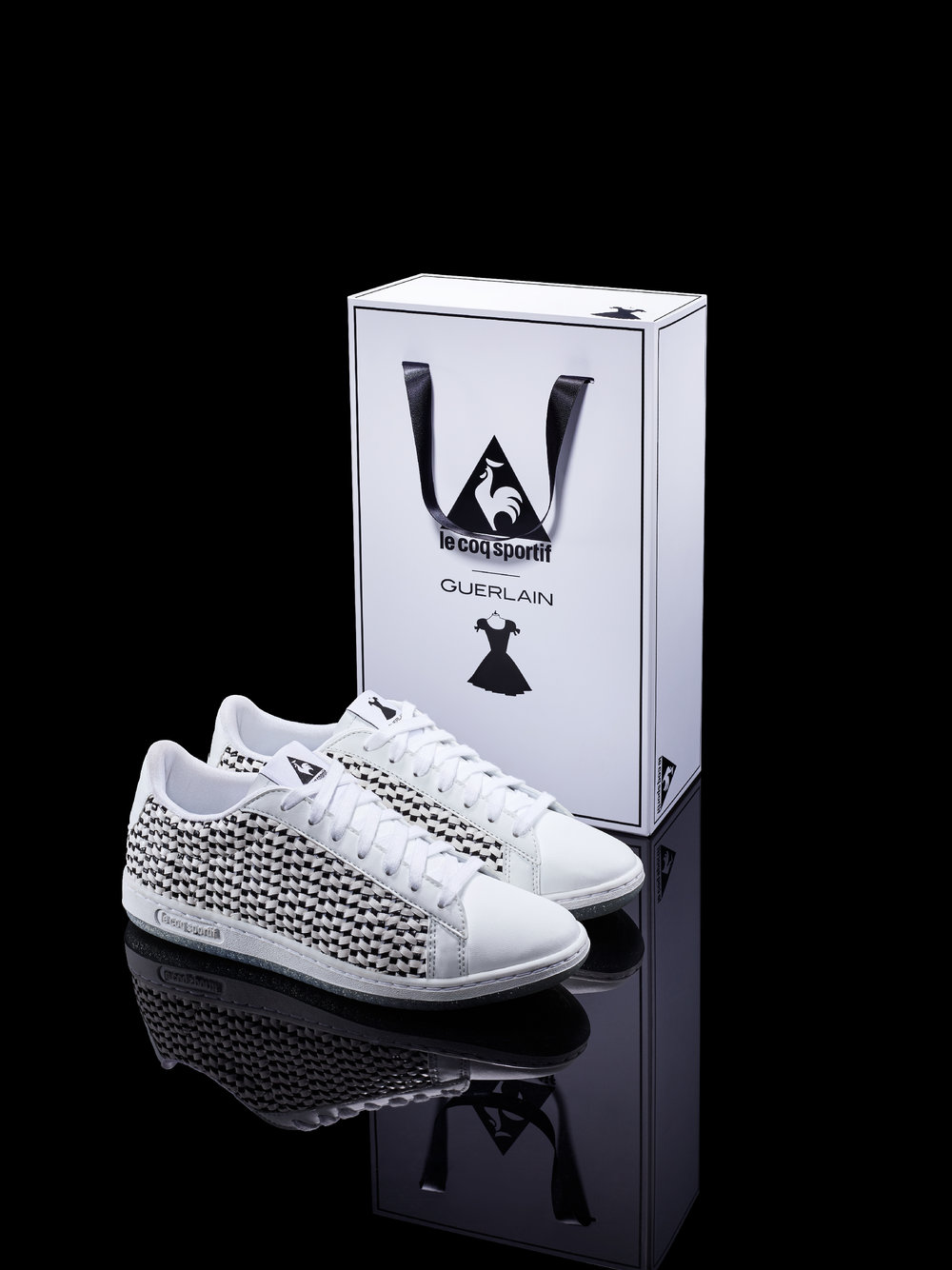 0066ba4fcf8e The le coq sportif x La Petite Robe Noire capsule collection is now  available at selected retailers.