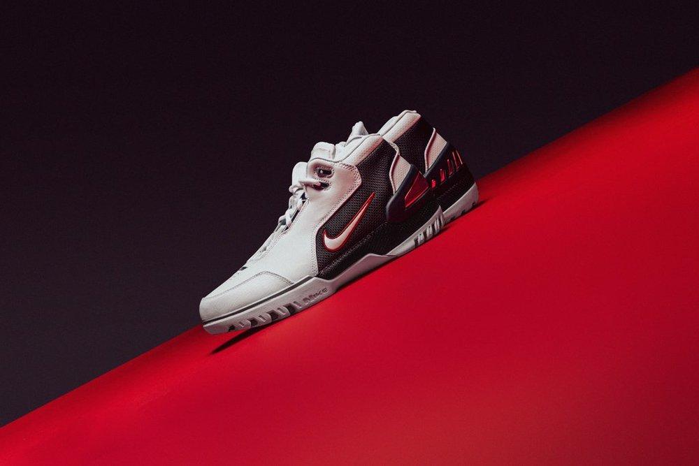 d3cc66d3515a Nike Air Zoom Generation QS - White-Black-Varsity Crimson - AJ4204-101 - Feature-LV-