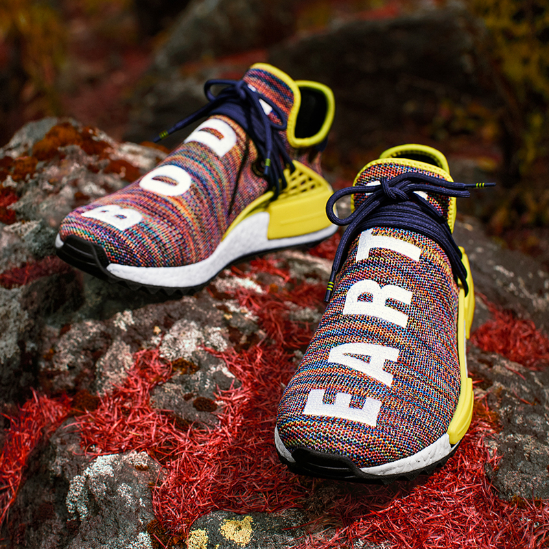 a9ffc40d637f Pharrell Williams x adidas NMD HU Trail — Oslo Sneaker Fest