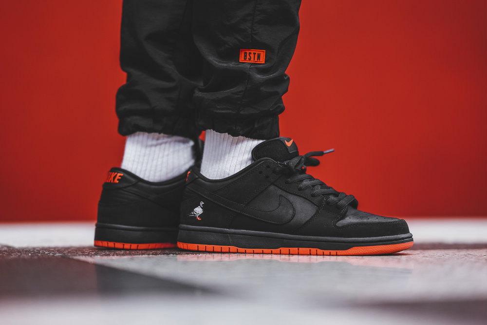 "Nike SB Dunk Low QS ""Black Pigeon"""