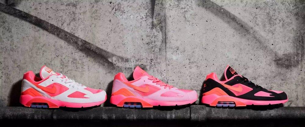sale retailer c3a22 efc98 COMME des GARÇONS x Nike Air Max 180 — Oslo Sneaker Fest