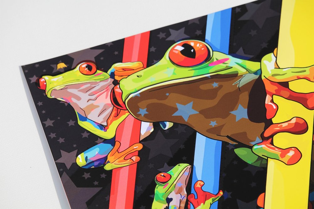 """Tree Frog Untitled"""