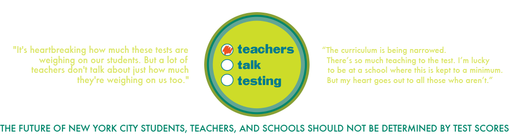 Teachers Talk Testing