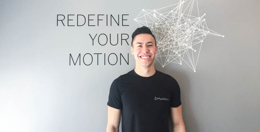 ETHAN LEE    RMT @ Myodetox   Not one to shy away from complex cases, Ethan's ability to assess ailments and implement an effective treatment plan has helped many of out clients. Most importantly, his dedication to providing a positive and personalized experience is something that is important to him.  With a genuine interest in everybody's well-being and long-term health, he is committed to solving each of his client's cases and providing them with the proper education and resources moving forward.    Book Your Appointment