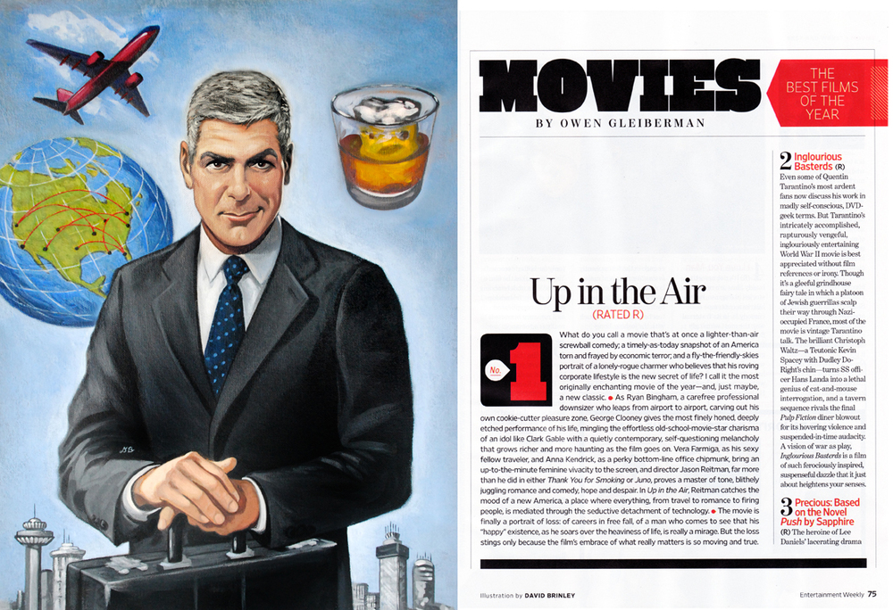 George Clooney Up in the Air   | Entertainment Weekly