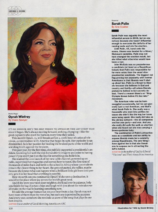 Oprah Winfrey  | The Time 100
