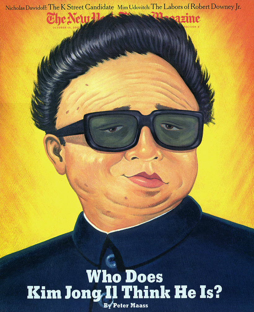 The Last Emperor Kim Jong-Il   | The New York Times magazine cover and spread | AI 23, CA 45, SI 47