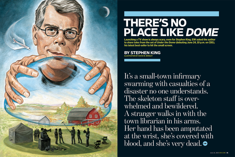 Stephen King Under The Dome   | Entertainment Weekly