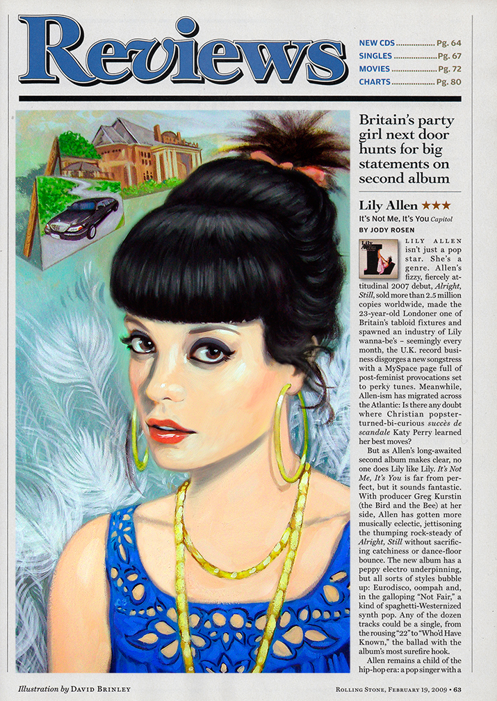 Lily Allen   | Rolling Stone magazine record review