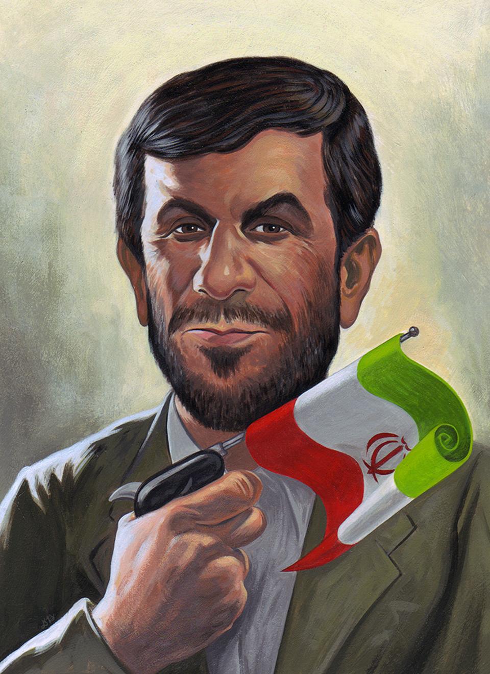 Mahmoud Ahmadinejad  | TIME magazine (unpublished cover)