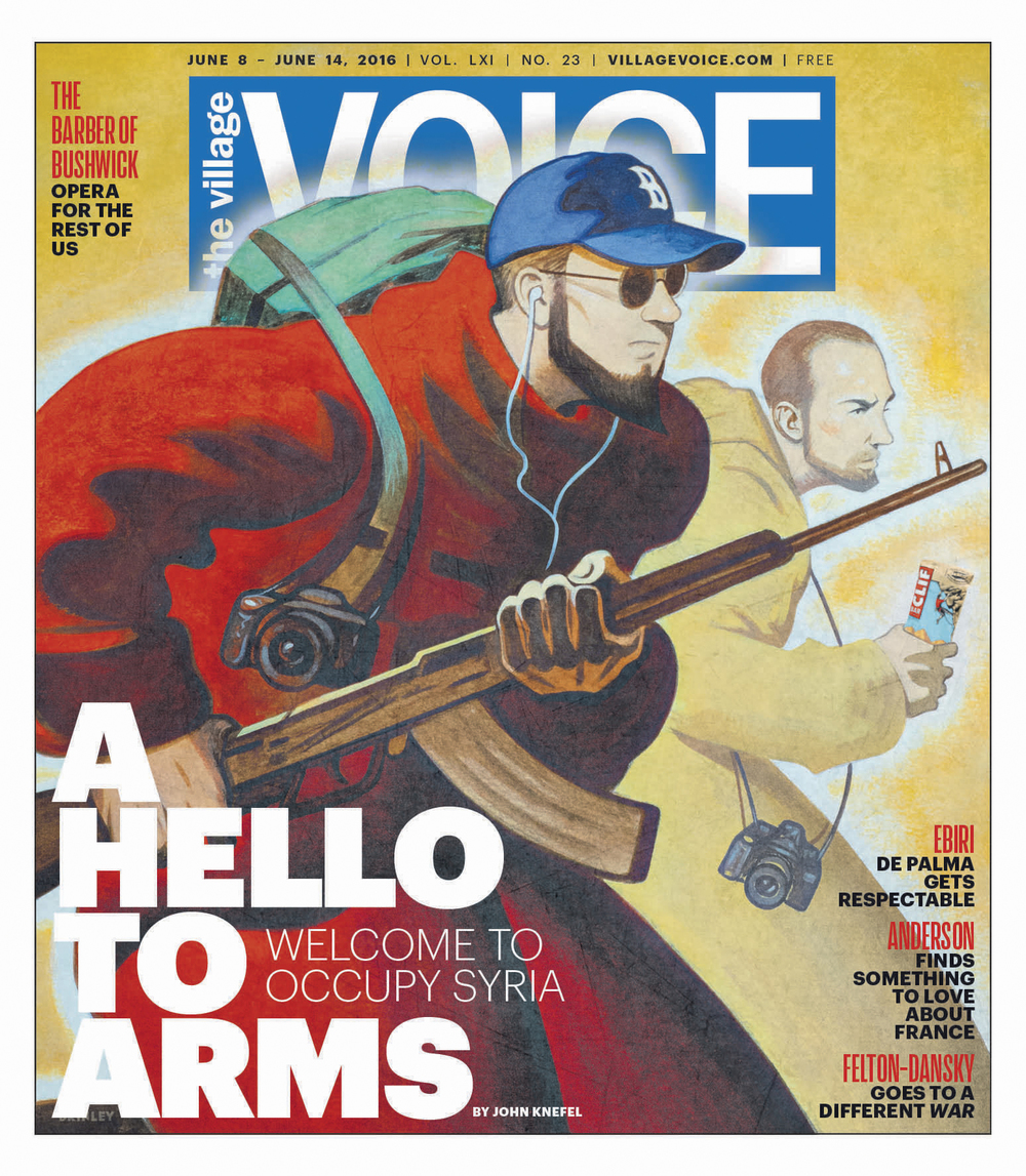 A Hello To Arms   |  The Village Voice cover June 8-14, 2016