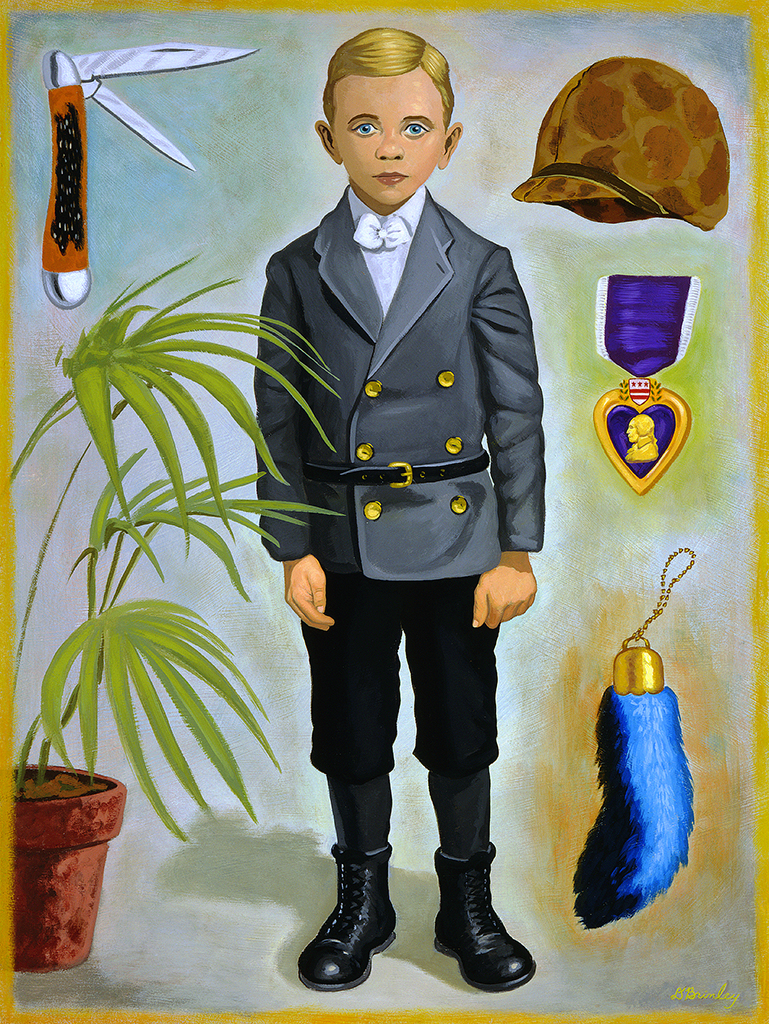 Soldier Boy     S elected American Illustration 23
