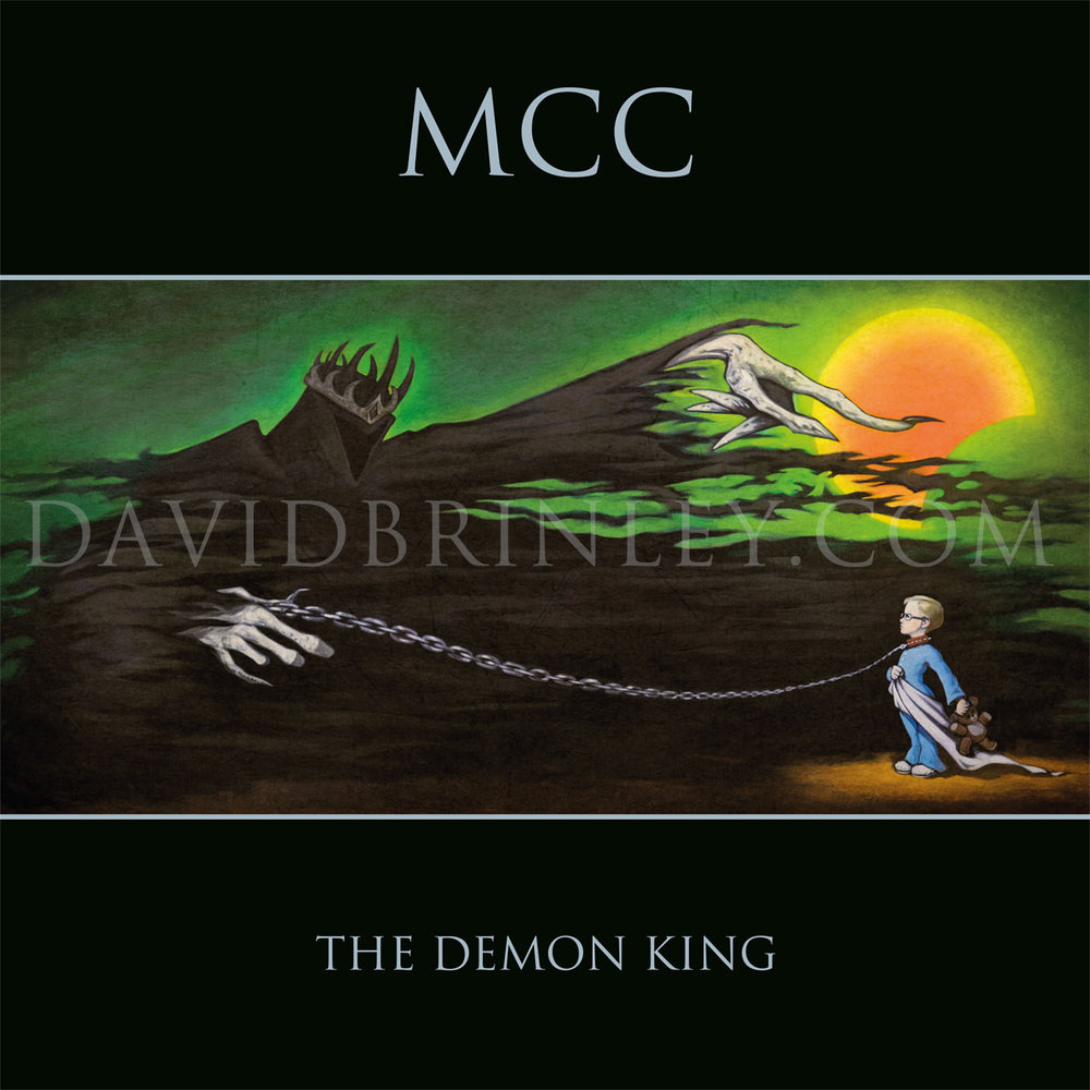 Magna Carta Cartel The Demon King EP (2017)    Lövely Records (Sweden)   David M. Brinley cover painting   OFFICIAL VIDEO LINK