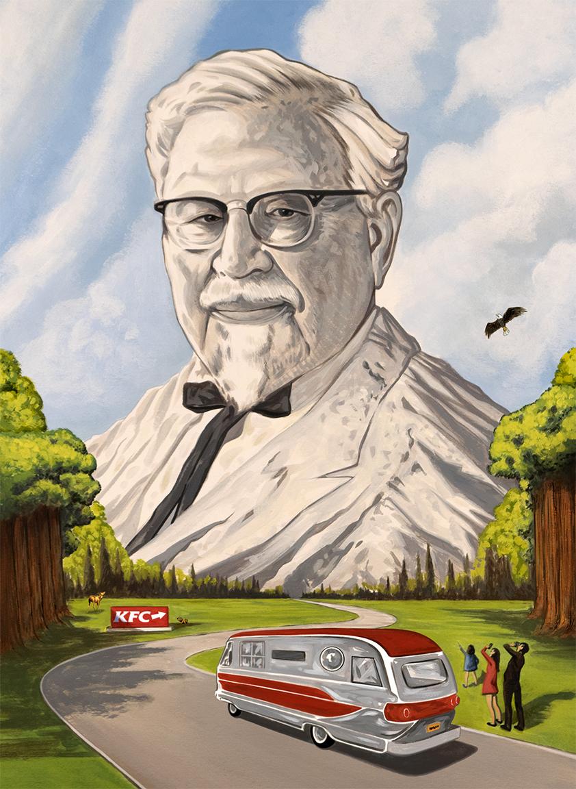 KFC GPS Cassette tape  | Wieden + Kennedy (Portland) | 2017
