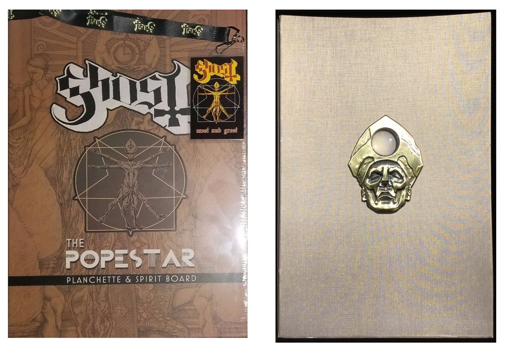 GHOST  | Popestar VIP meet and greet merch | Planchette and Spirit board