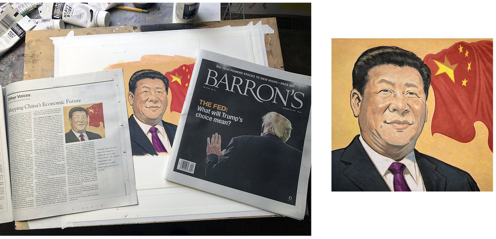 Barron's  | China President Xi Jinping | October 30, 2017