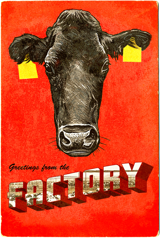 Greetings From The Factory | Society of Illustrators Members Open: POSTCARDS FOR A GREENER EARTH: The Exhibit |  October 16, 2018 to December 29, 2018