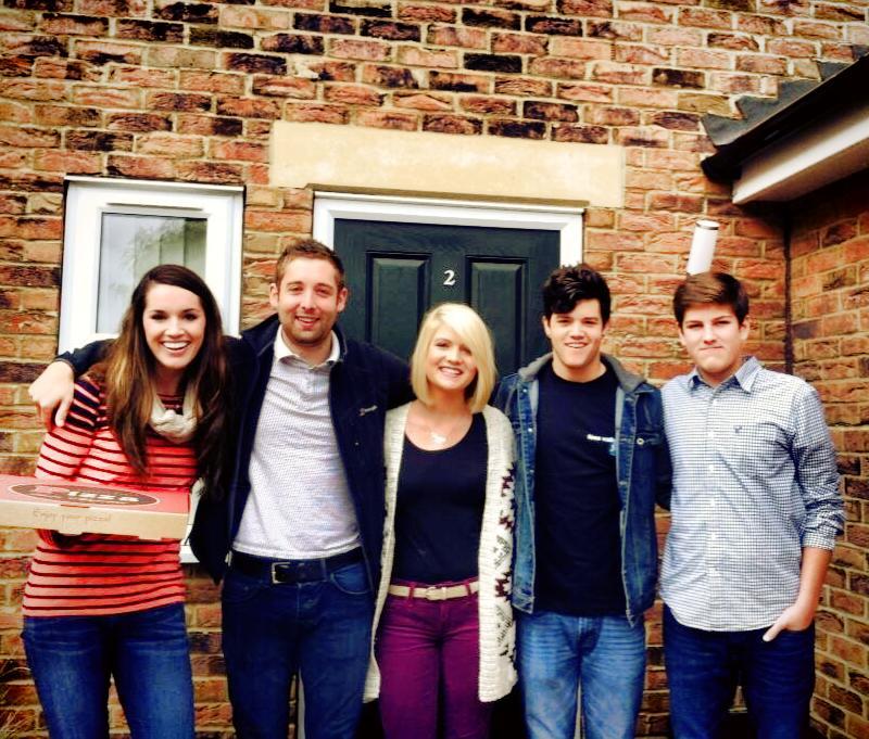 2013-2014 Stockton Team: Alicia, Josh, Bri, Tanner, Hayden