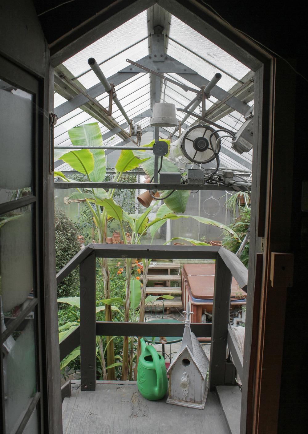 FOWLER, OHIO: air bnb solar powered greenhouse