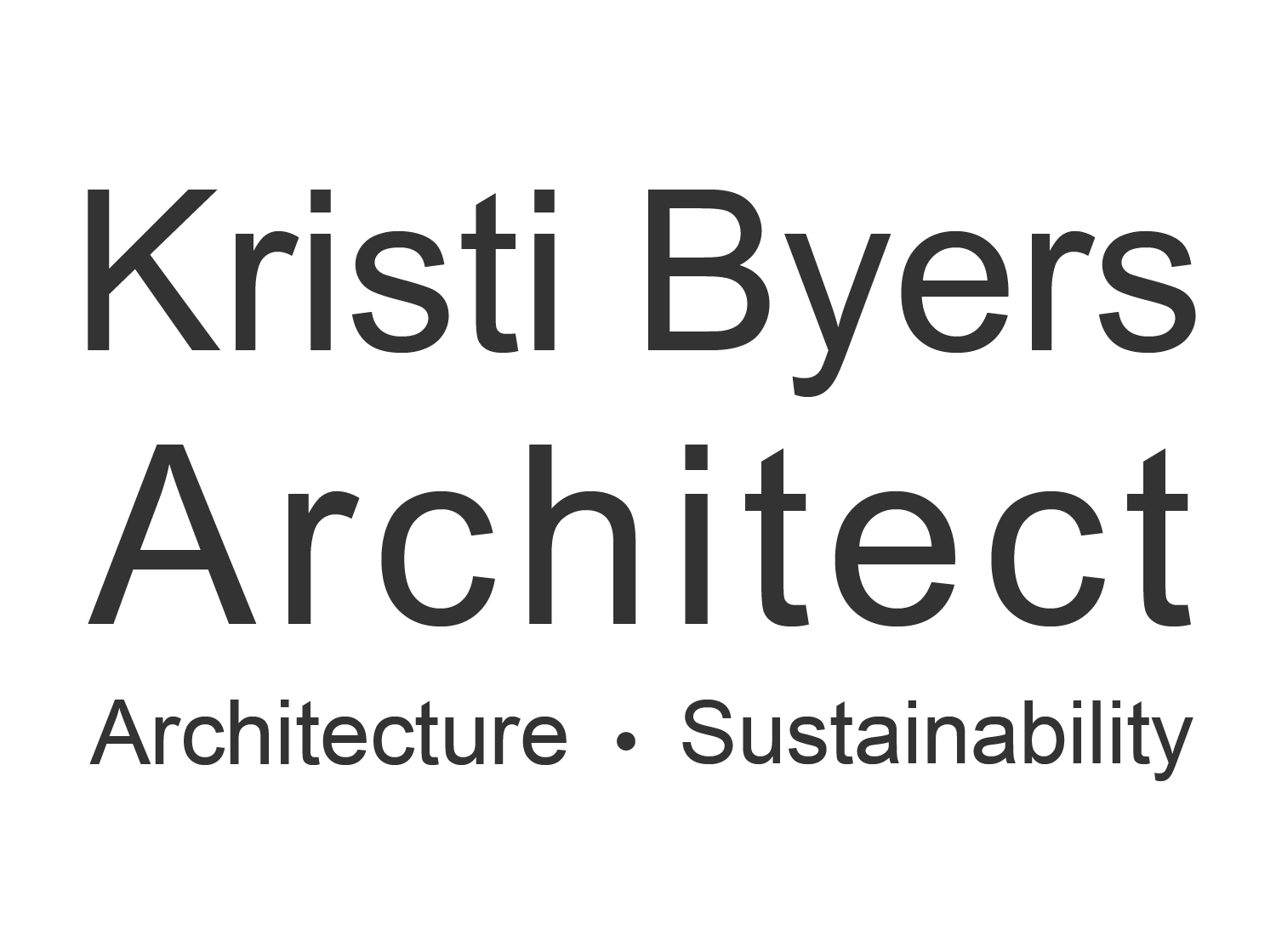 Kristi Byers, Architect