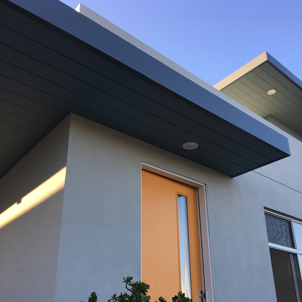 Another shot from today's site visit... #modern   #modernarchitecture   #southpark   #sandiegomodern   #moderndesign   #collaborativearchitecture   #collaborativedesign   #renovation   #modernrenovation   #cementitioussiding   #urban   #urbanliving   #green   #sandiegoarchitect   #kbarch   #kristibyersarchitect   #whatanarchitectdoes