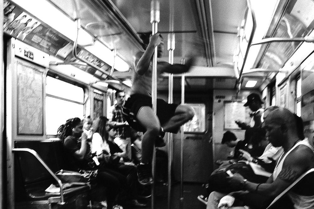 E Train, Queens, N.Y