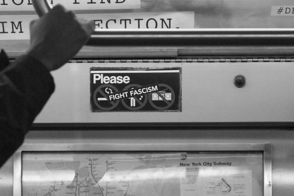 A Train Manhattan, N.Y