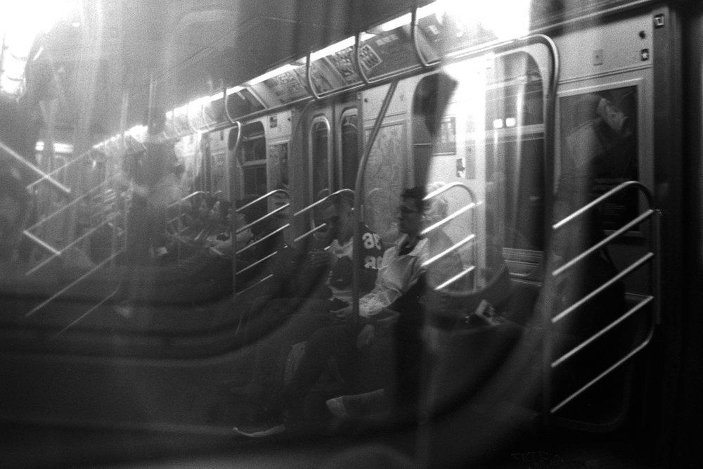 E Train, Manhattan/Queens, N.Y