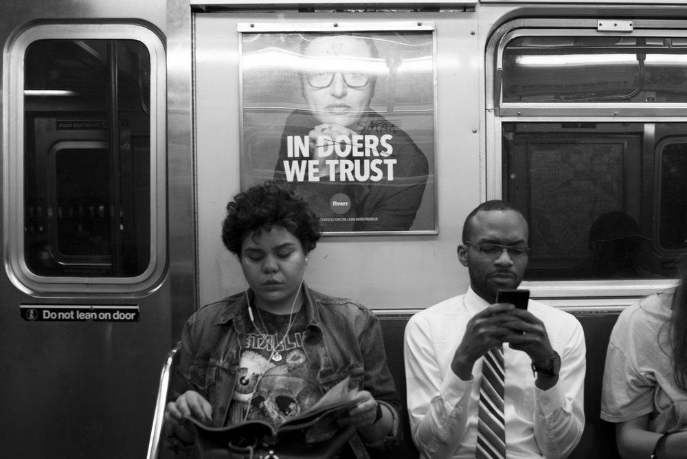 6 Train Manhattan, N.Y