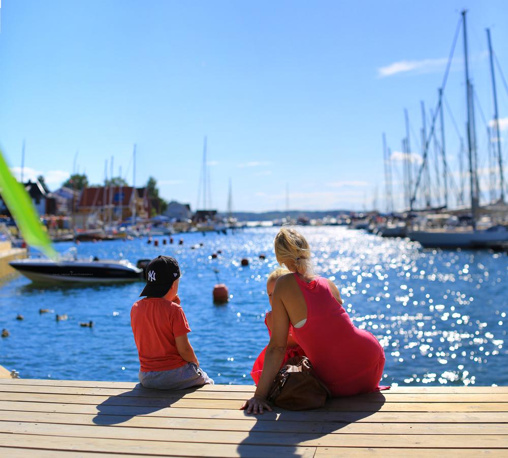 Det er lett å forstå at havnen i Son er blant Norges mest populære for fritidsbåter og seilbåter.