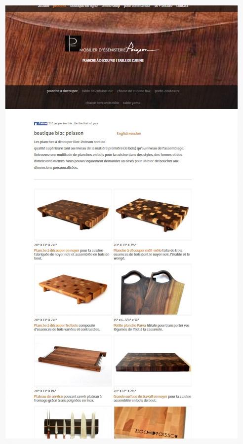 Trouvez l'information concernant les commandes sur la boutique en ligne