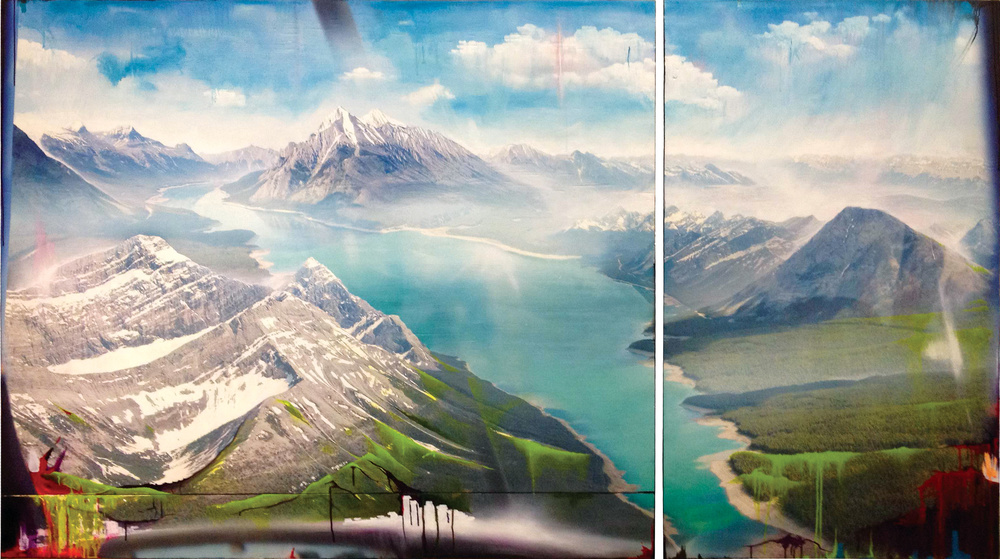 FLIGHT THROUGH THE ROCKIES, 2014 | Private Commission
