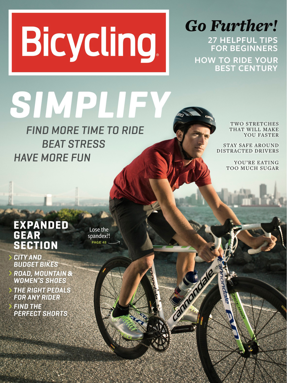Bicycling Magazine September 2013 Cover