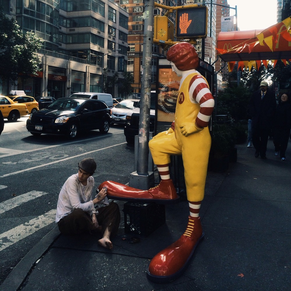 Banksy McDonald's New York