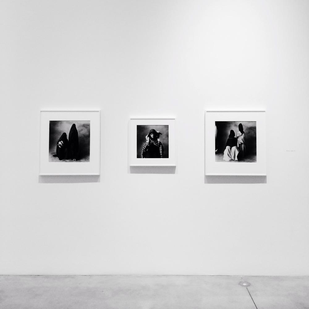 Irving Penn, Corner Portraits