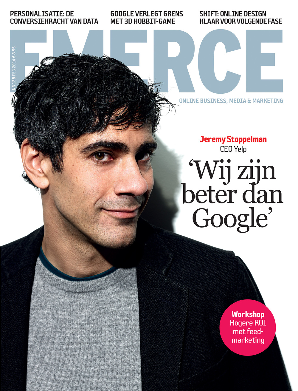 Jeremy Stoppelman, Yelp CEO, Emerce Magazine