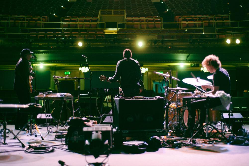 Dan Lanois & his band