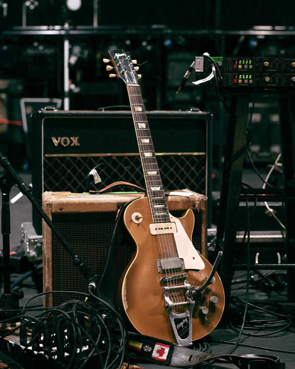 Dan Lanois' 1953 Gibson Les Paul Goldtop